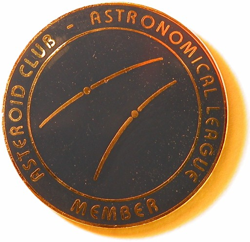 Asteroid Observing Program Pin