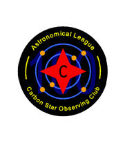Carbon Star Program Pin