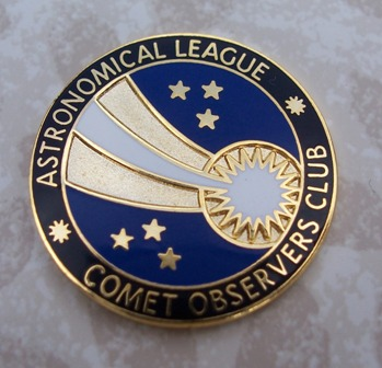 Comet Observing Program Pin