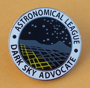 Dark Sky Advocate Award Pin