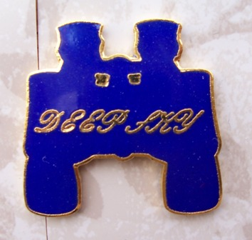 Deep Sky Binocular Observing Program Pin