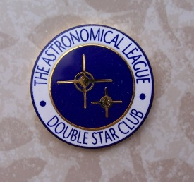 Double Star Program Pin