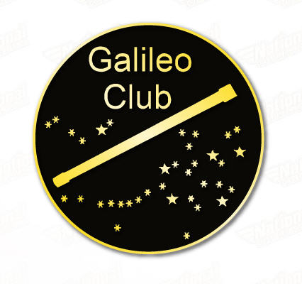 Galileo Program Pin