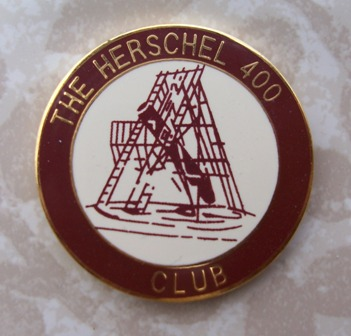 Herschell 400 Observing Program Pin