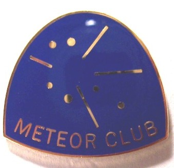 Meteor Observing Program Pin