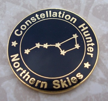 Constellation Hunter Observing Program Pin