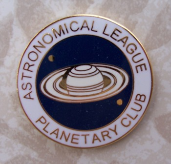 Solar System Observing Program Pin