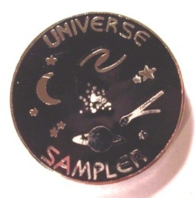 Universe Sampler Program Pin