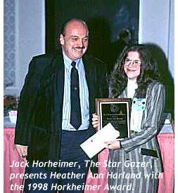 Jack Horkheimer and Heather Ann Harland