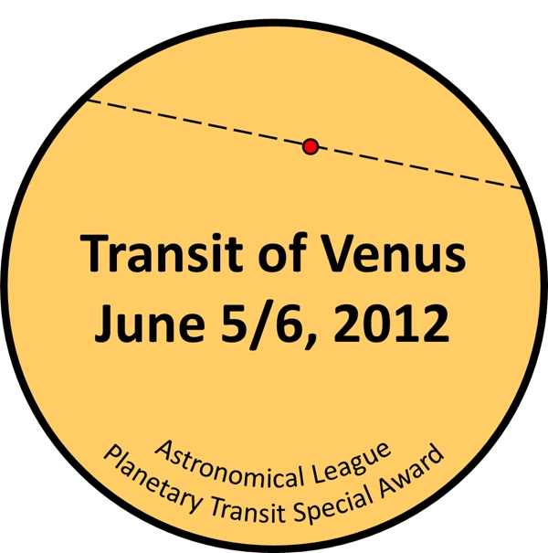 Planetary Transit Special Award Pin