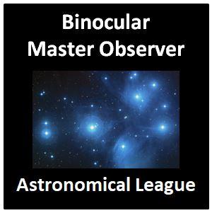 Binocular Master Observer Award Pin