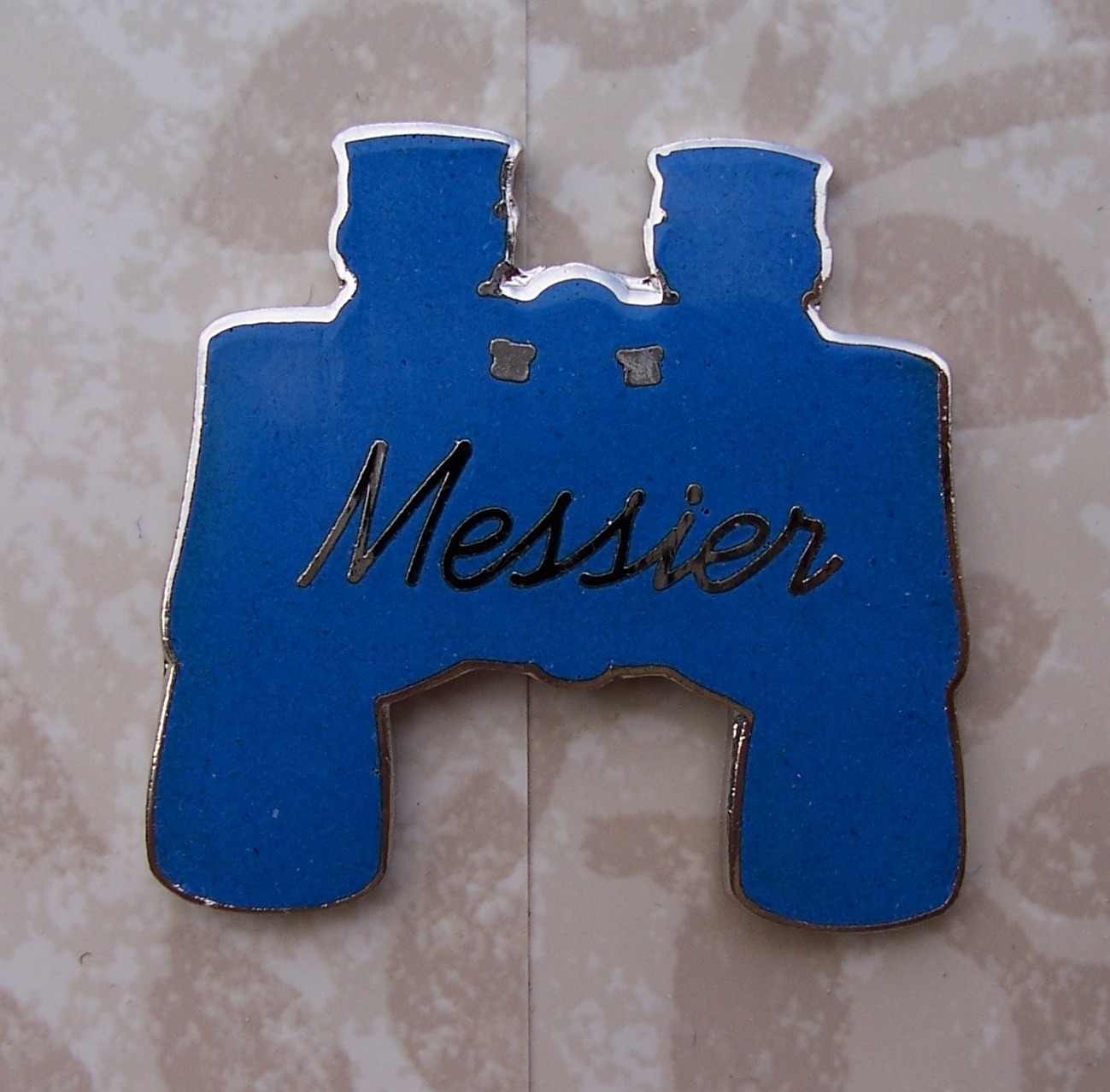 Binocular Messier Observing Program Pin
