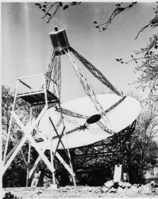 Rote Greever radio telescope 1937