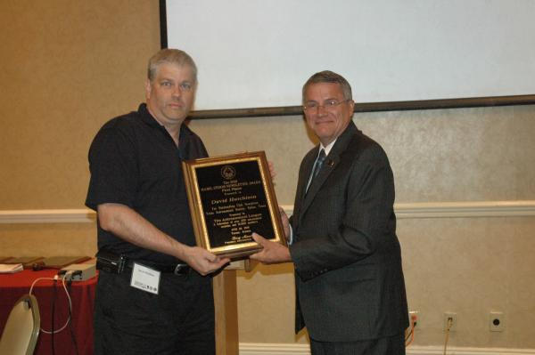 David Hutchinson, winner 2010 Mabel Sterns award and Carroll Iorg Vice President Astronomical League