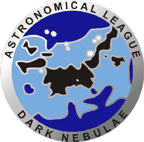 Astronomical League Dark Nebula Club Pin