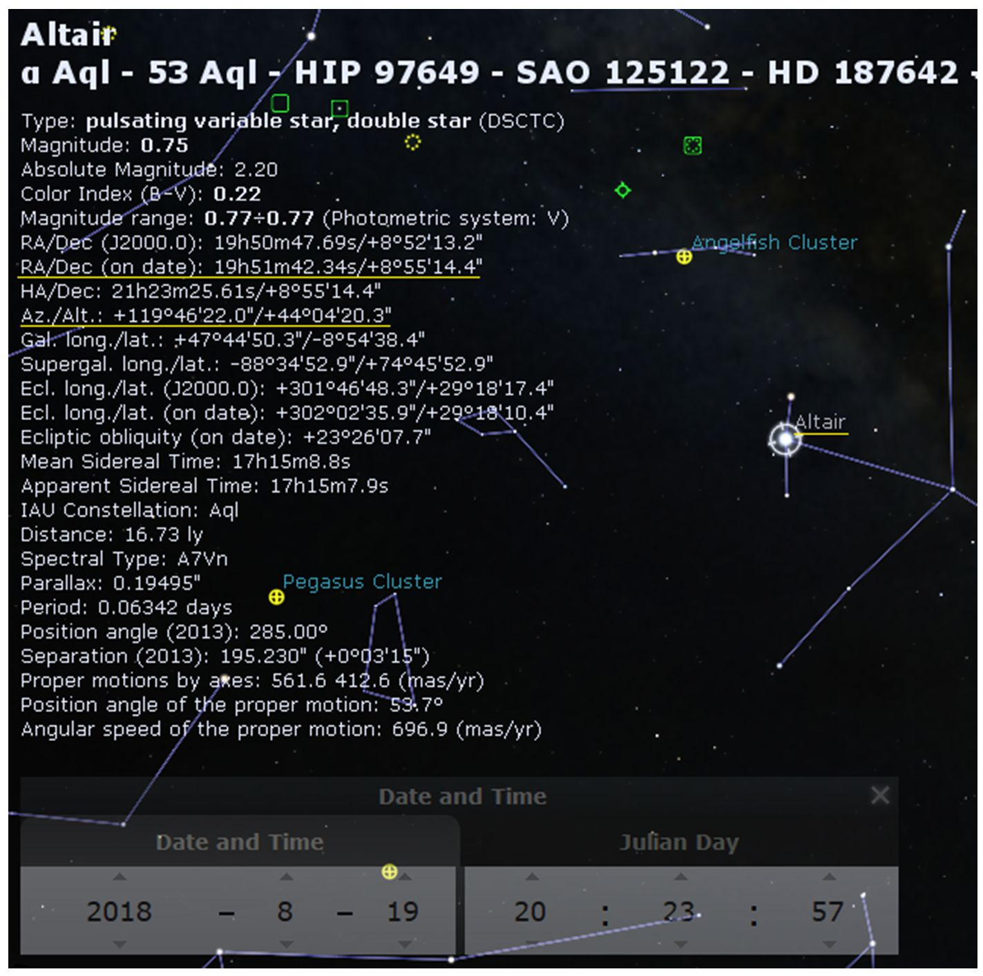 Converting Alt/Az Coordinates to Equatorial | The Astronomical League