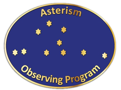 Asterism Program Pin