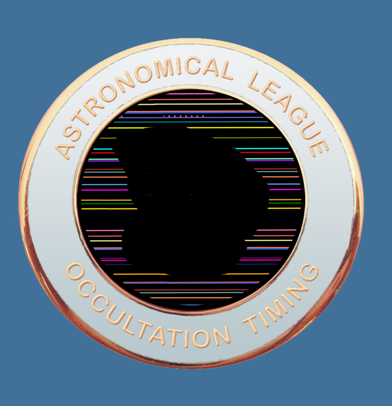 Occultation Observing Program Pin